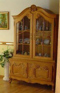 Antique Belguim display cabinet