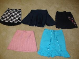 GIRL'S  SIZE  4  SKIRTS