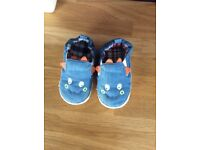 Baby / toddler soft monster shoes (12-18 months)