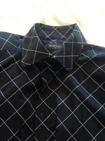 Burtons black shirt size medium