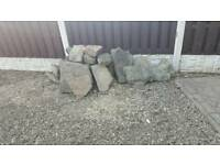 Rockery stones for landscaping