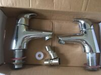 Ideal Standard Hot and Cold Taps