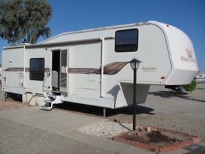 5th Wheel RV-2 Slideouts, parked @ Westwind RV  in Sunny Yuma AZ