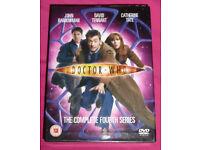 Dr Who The Complete Fourth Series DVD's (David Tennant, John Barrowman)