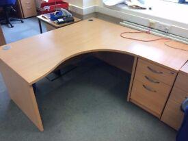 Office furniture - job lot - desks, filing cabinets, chairs etc.