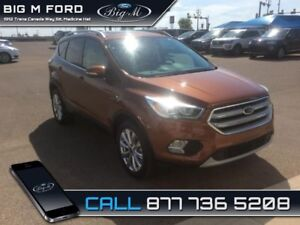 2017 Ford Escape Titanium  - $234.51 B/W