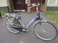 Electric Dutch Sparta bike pedelec E-bike ebike bicycle NEEDS REAPAIR!!