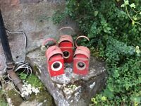 Old road lamps