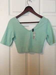 Three Crop Tops from H&M (Tags Attached)