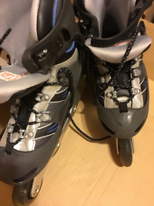 Salomon XTR Quattro 7.5 size Woman's Rollerblades (Barely used)