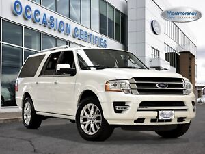 2016 Ford Expedition Max Limited CAMÉRA+CUIR+GPS+BLIS
