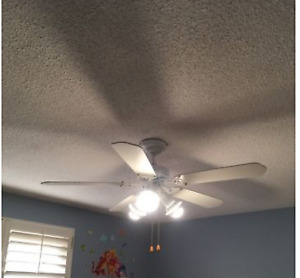 TOILET, CEILING FANS WITH LIGHTS, SIDING, WINDOWS!!! CHANDELIERS