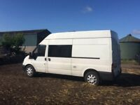 Ford Transit Camper Conversion (51 plate, MOT May 2018, 151k full gas and electric)