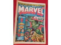 The mighty world of marvel 1972.