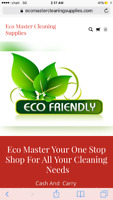 Marketing and Retail Sales In-Store Eco Cleaning Supplies