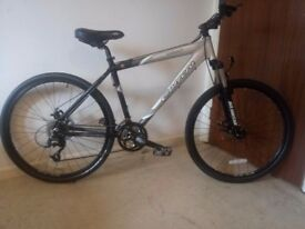 Carrera Kraken Mountain Bike 18 Frame 25 Wheel 27 Speed