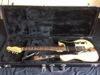 Fender American Standard Telecaster RW Natural - GREAT CONDITION - INCLUDES HARD CASE