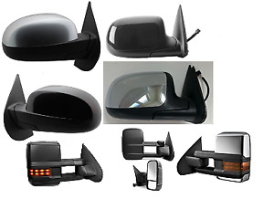 Side Mirrors Fits Chevy Silverado Gmc Sierra Yukon Avalanche