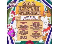ELROW ROW TOWN LONDON DAY TWO OFFICIAL TICKETS