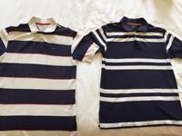 2 Tommy Hilfiger Polo shirts