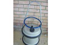 Aquaroll Water Barrel with filler hose & handle