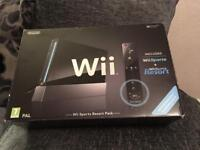 Black Nintendo Wii Outfit ( Boxed )