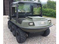 Argocat Conquest and purpose built trailer for sale