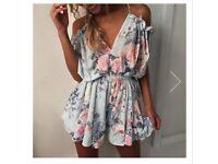 Gorgeous floral Jumpsuit/playsuit/romper