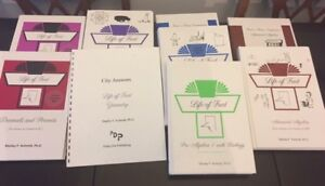 8 Life of Fred Math books