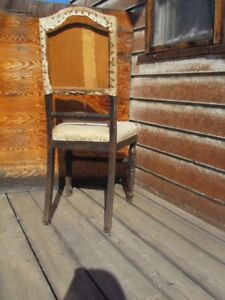 Antique chair for refinishing for sale