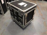 heavy duty 14u rack mount, tipper flight case