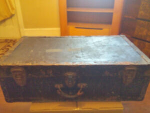 Moving - Antique Steamer Trunk