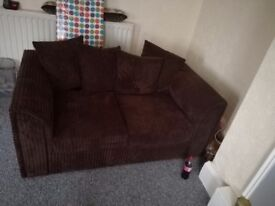 Free 2 seater sofa and footstool