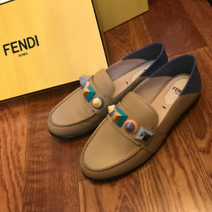 BNIB Fendi collapsible loafer $1155+tax