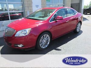 2015 Buick Verano Leather LOW KMS, LEATHER, BACKUP CAM