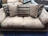 Harvey's sofa and armchair