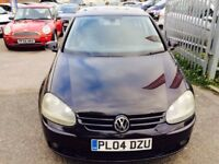 VW GOLF 2.0 GT TDI 5 DOORS DIESEL MANUAL BLACK FULL HISTORY 2 OWNERS DRIVE NICE