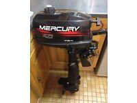 Mercury 4hp 2 Stroke Outboard Engine