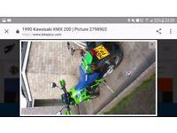 Kmx 200 Kawasaki A-3 under 4000 miles