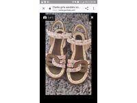 Clarks girls sandals
