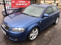 2005 AUDI A3 TDI QUATTRO S-LINE, WARRANTY, NOT GOLF 1 SERIES S40 FOCUS MEGANE ST