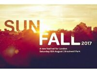 Sunfall Festival Tickets for Sale X2 £50 Each