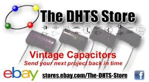 Vintage Capacitors for Repair Technician, Restorer, Hobbyist