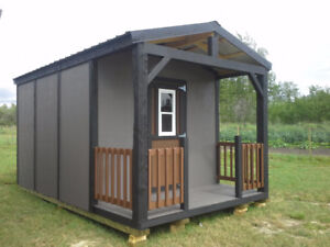Cabins style storage shed