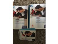 ACCA P6 Text book, exam kit and pocket notes FA16 to March 18