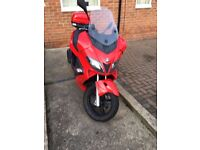 Gilera Nexus 125 2009 Red