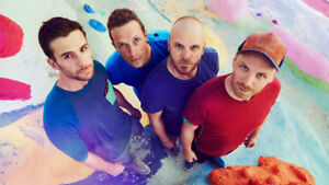 Coldplay Tickets - August 22nd, Rogers Centre - Below Face Value