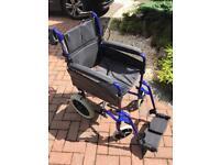 Transit wheelchair Invacare lightweight