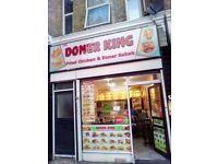 Fried Chicken and DONER Kebab shop sale on lease