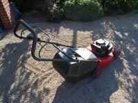 "Champion R484P 18"" Cut Petrol Rotary Hand Propelled Lawnmower"